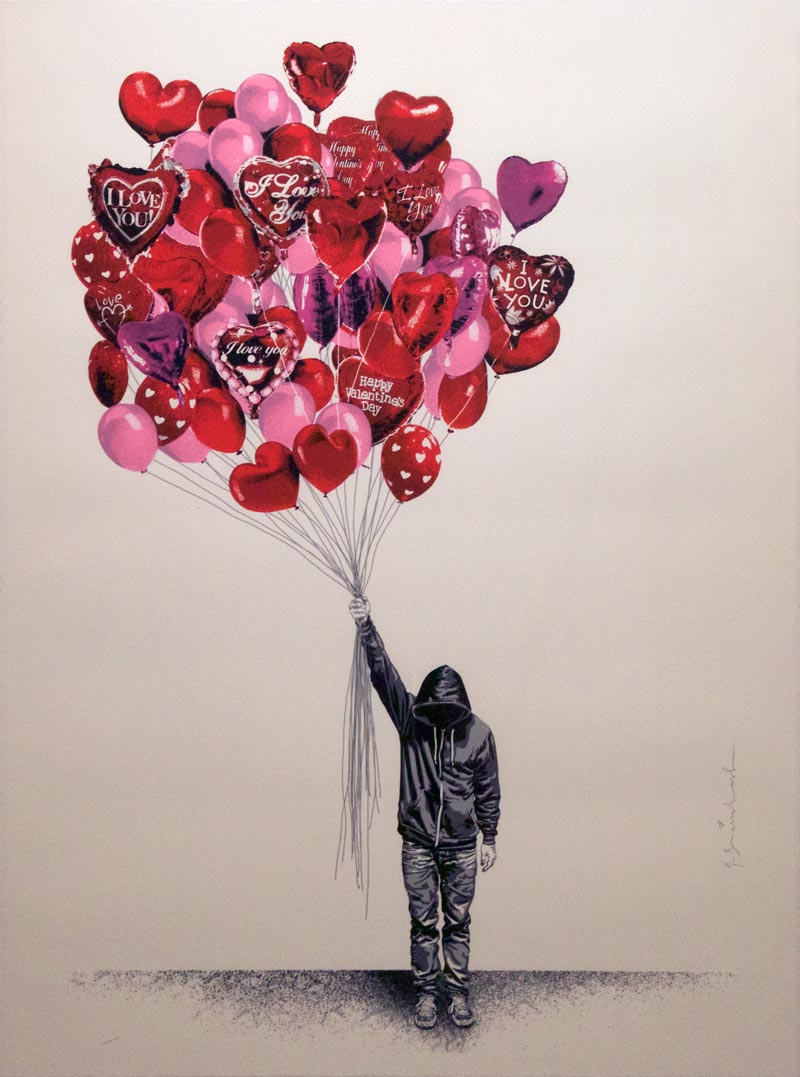 Mr. Brainwash, Love is in the air, 2015