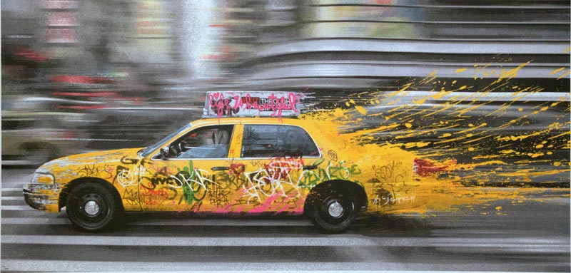 Mr. Brainwash, Going to NY, 2014